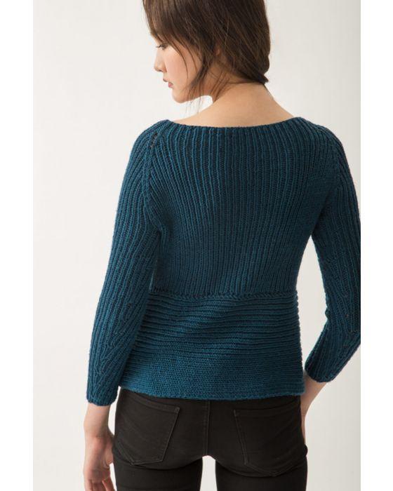 Ribbed Raglan Sweater Kit 2