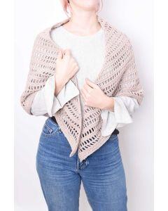 Crochet Mesh Shawl Kit