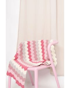 Chevron Striped Blanket Kit