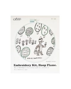 Clover Embroidery Kit Forest Fad