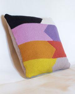 Intarsia Cushion Cover