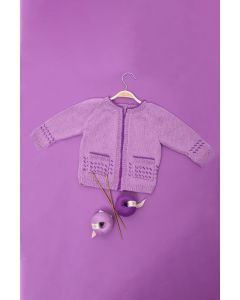 Kids Raglan Fairisle Cardigan Kit