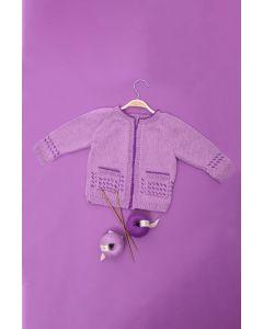 Kids Raglan Fairisle Cardigan Kit