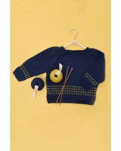 Kids Raglan Fairisle Sweater Kit