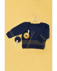 Kids Raglan Fairisle Sweater Kit