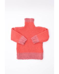 Kids Ribbed Polo Neck Jumper Kit