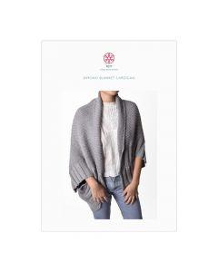 Kimono Blanket Cardigan Digital Pattern
