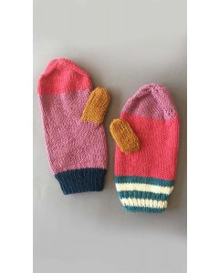 Colours of KPC Scarf and Mittens Set Kit