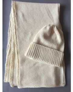 Novomerino Scarf and Beanie Set Kit