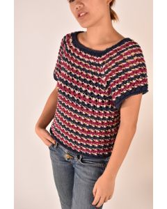 Raglan Sleeve Striped Summer Top Kit