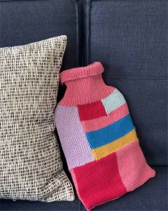Rainbow Hot Water Bottle Cover Kit