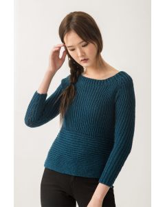 Ribbed Raglan Sweater Kit