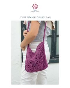 Spiral Granny Square Bag Digital Pattern