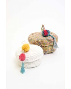 Tutti Frutti Crochet Baskets Kit