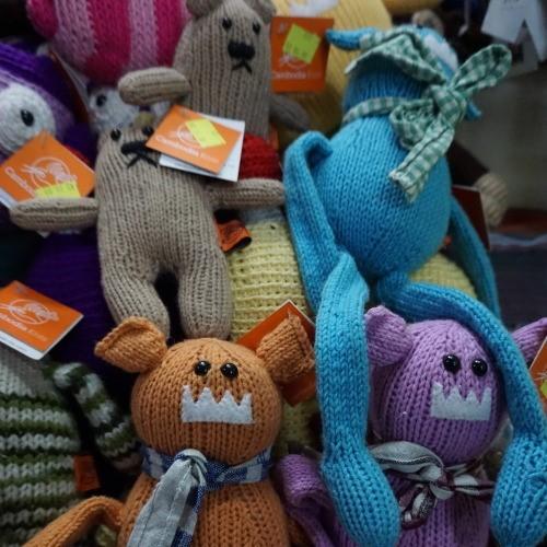 Cambodia knits